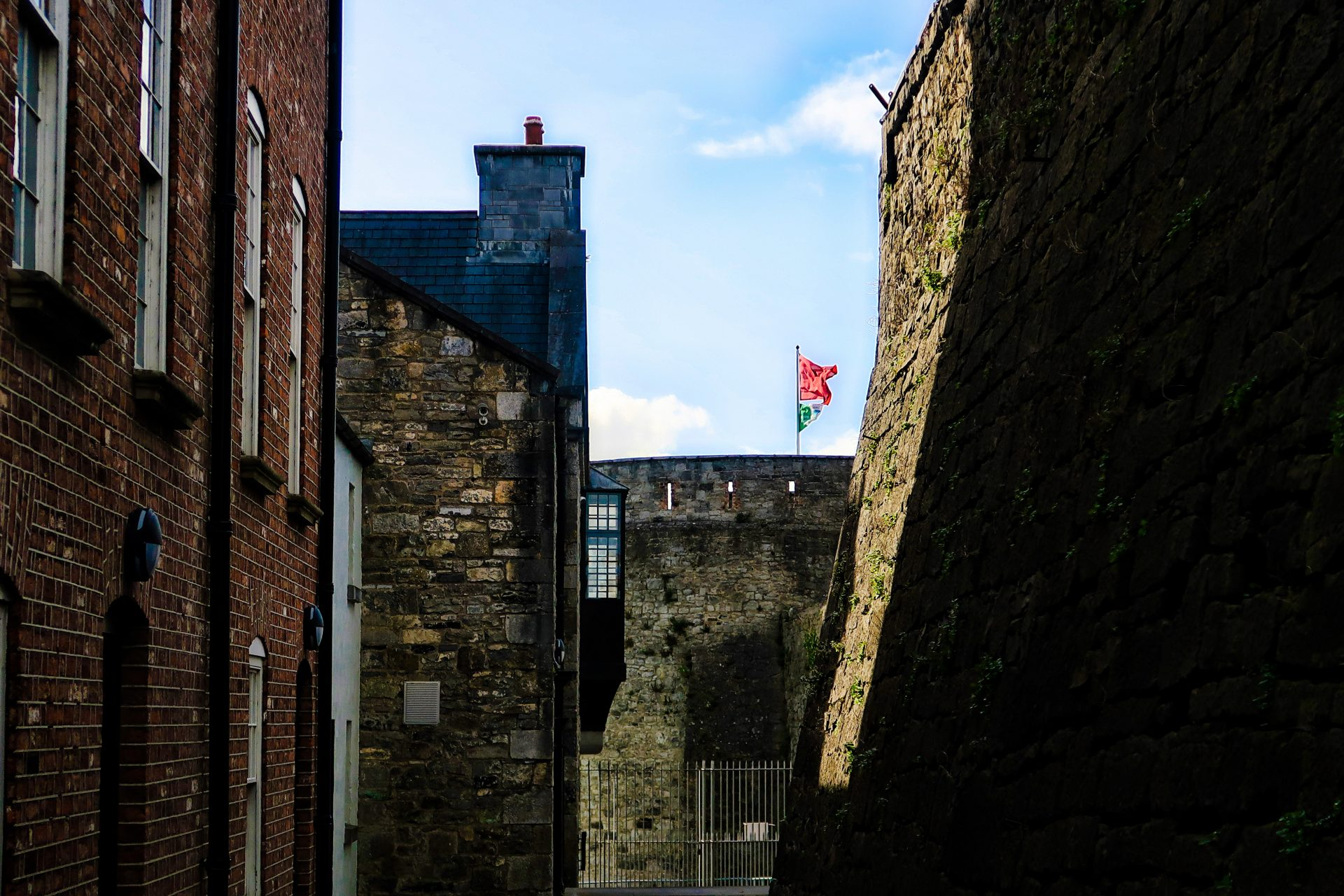 Inside King John's Castle - Irlanda 2018