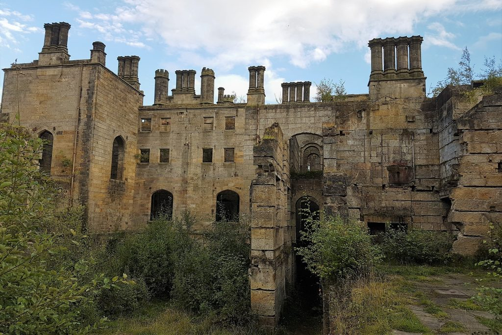 Dunmore Park House - Scozia Abbandonata