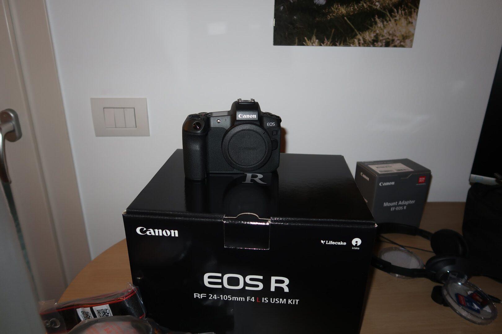 Canon EOS R: Mirrorless full-frame