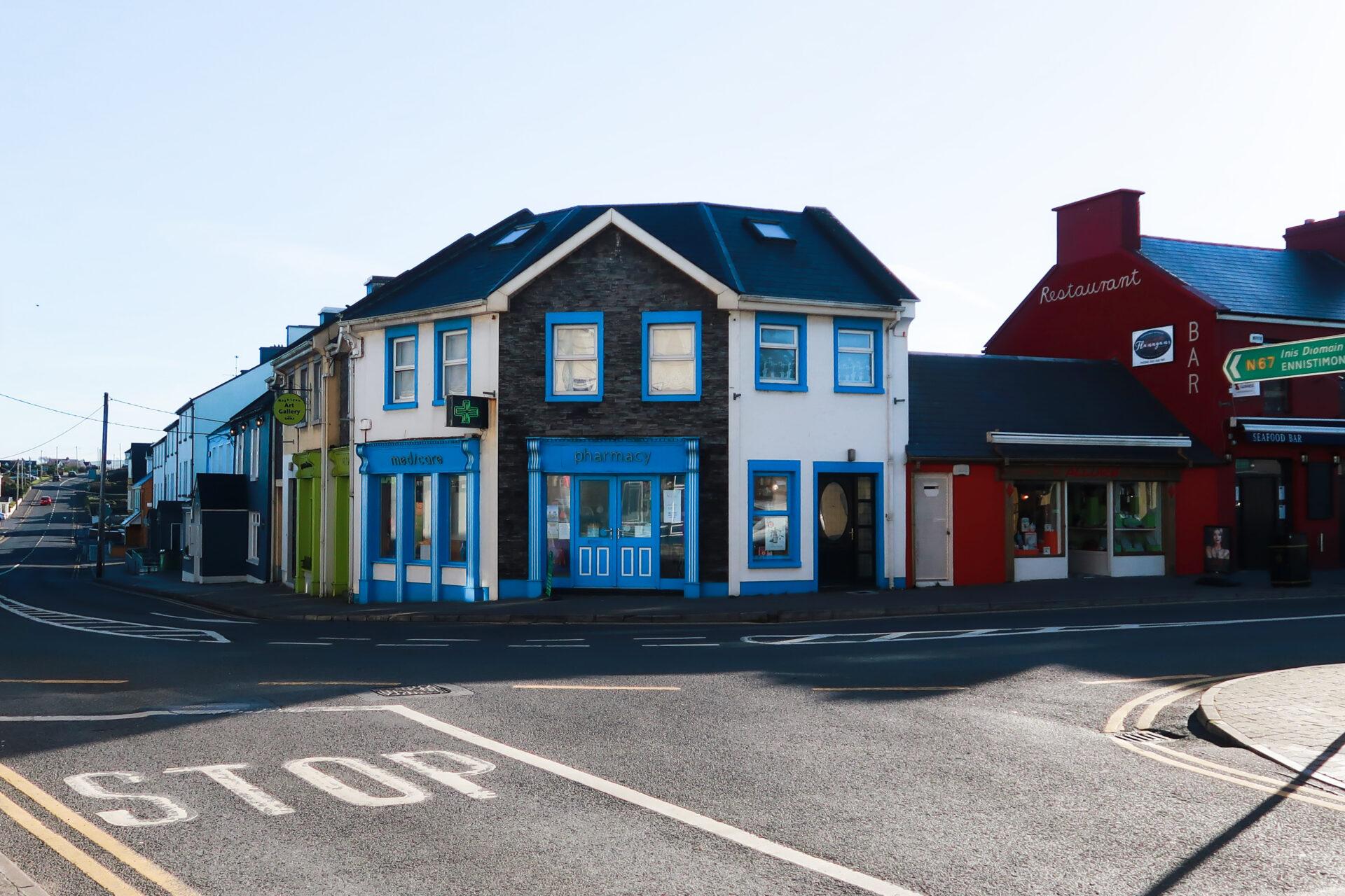 Corner in Lahinch - Irlanda 2018