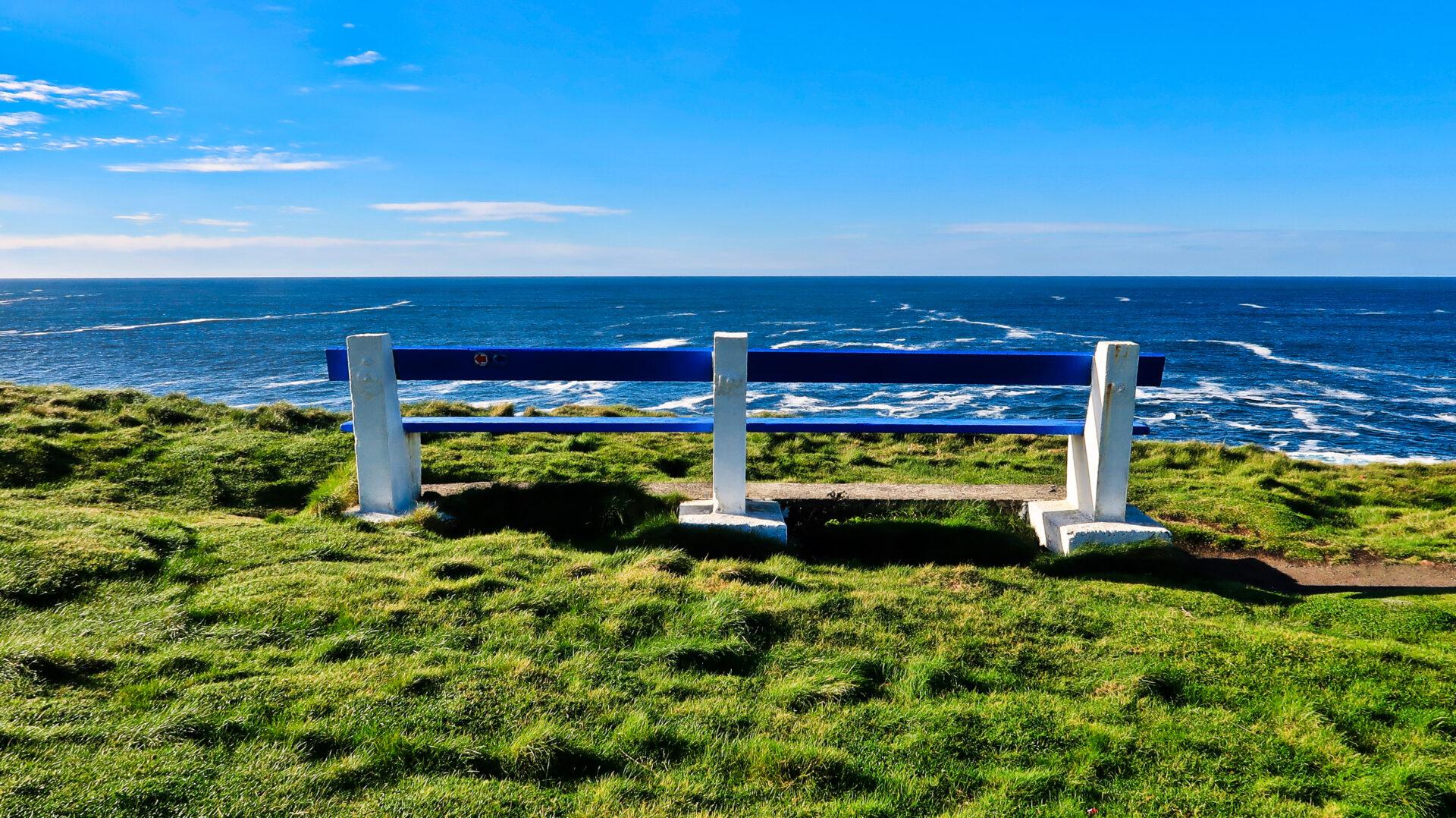 Sitting in front of Kilkee Cliffs - Irlanda 2018