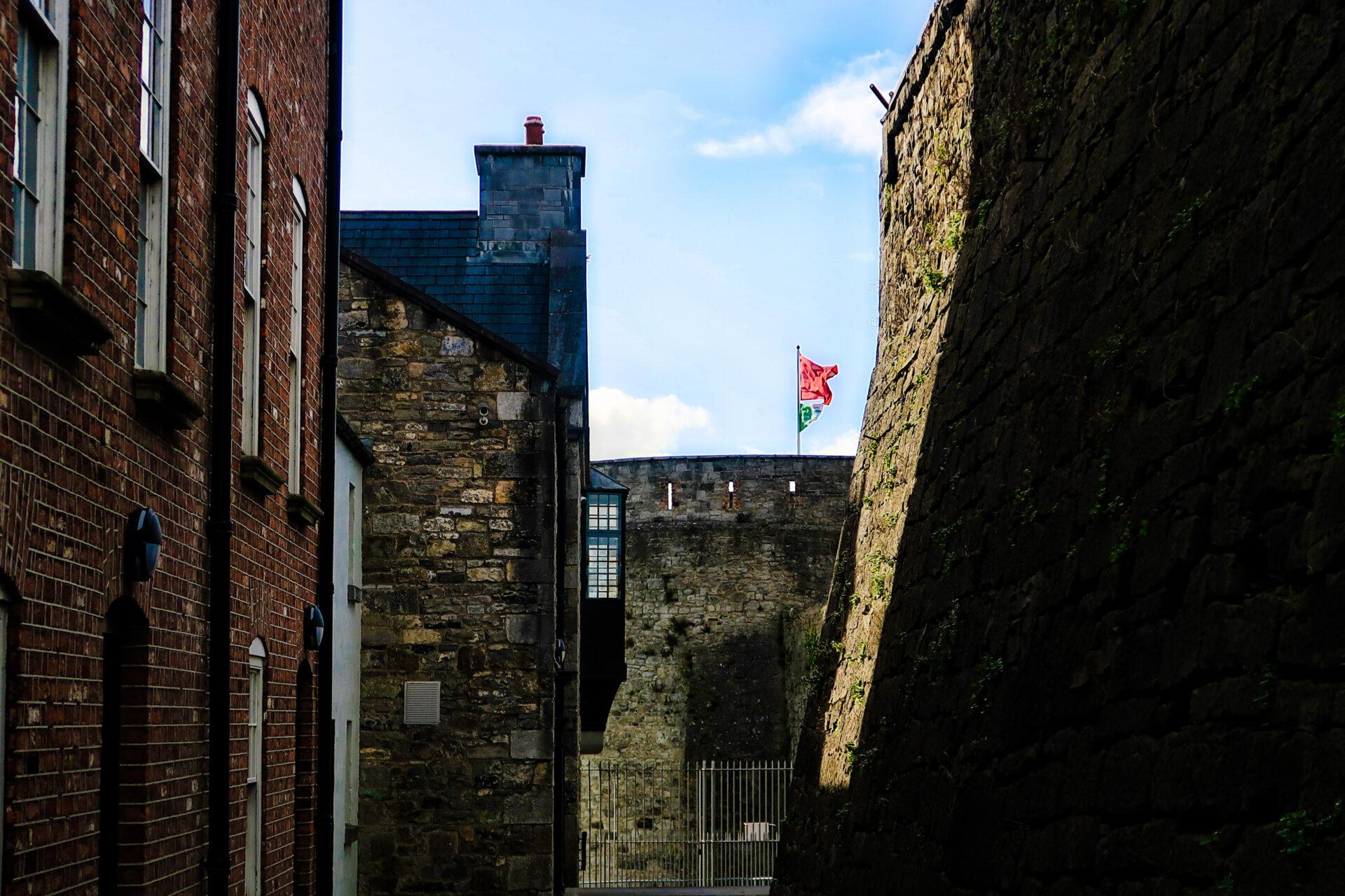 Inside King John's Castle - Irlanda 2018