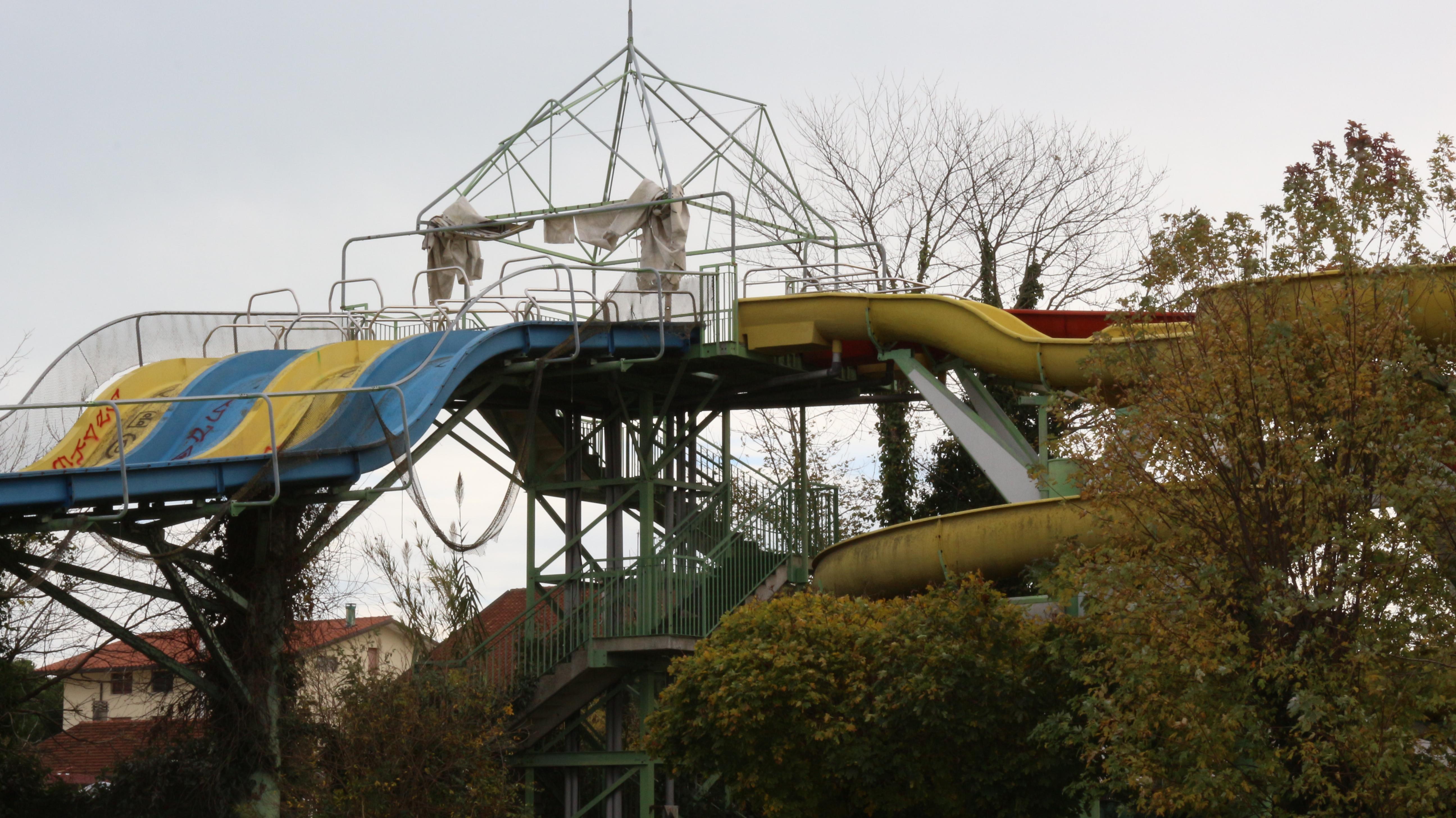 Aquaria Park: il parco acquatico abbandonato di Cervia