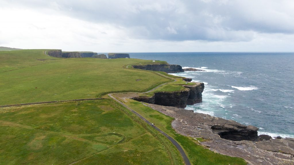 Kilkee Cliff Walk Irlanda