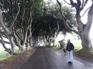 The Dark Hedges Backstage