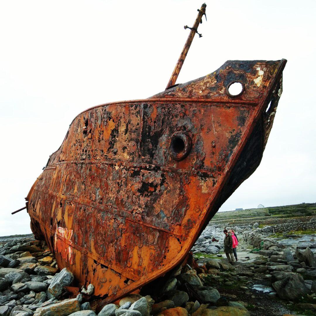 Plassey Shipwreck - Il relitto sulle Isole Aran