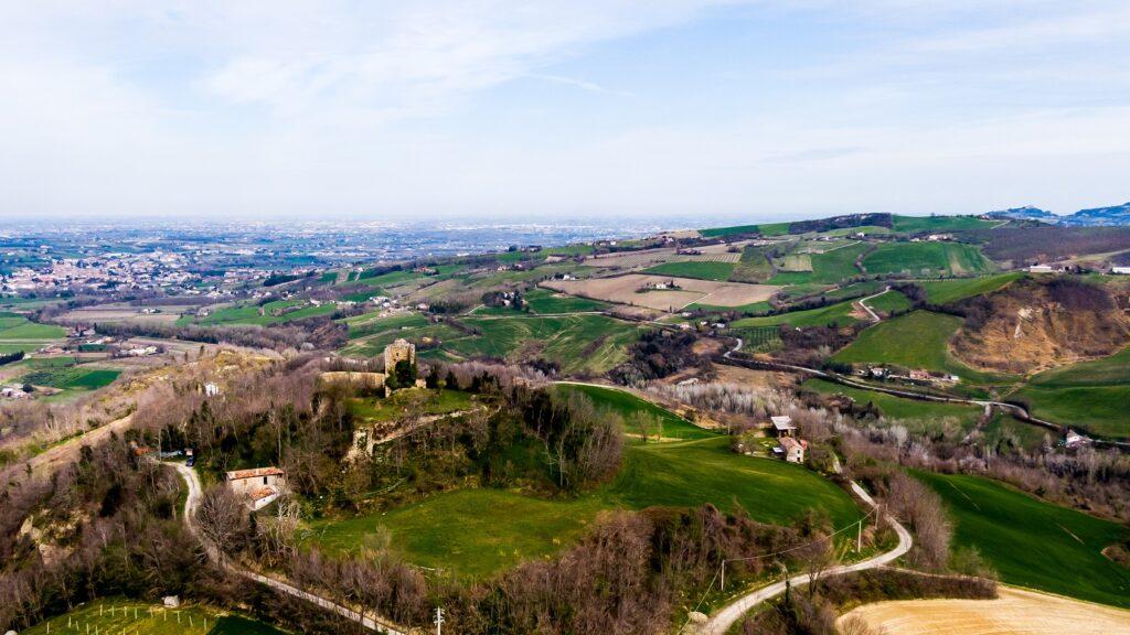 Vista dall'alto della Torre di Castelnuovo